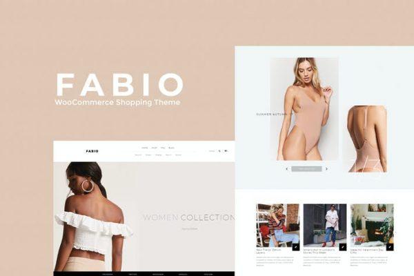 Fabio WooCommerce Shopping  Teması