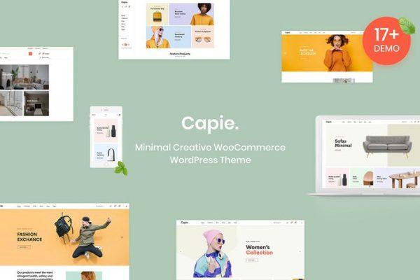 Capie - Minimal WooCommerce WordPress Temasısı