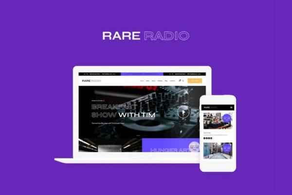 Rare Radio Teması