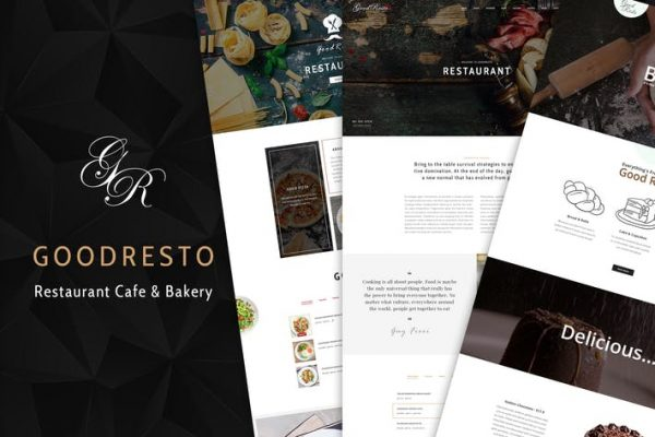 GoodResto -  Restoran WordPress Temasısı + Woocommer