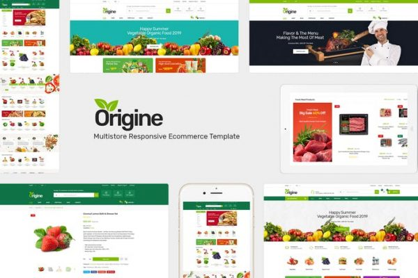Origine -  WooCommerce WordPress için Organik Teması