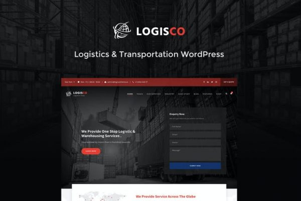 Logisco - Lojistik ve Taşımacılık WordPress