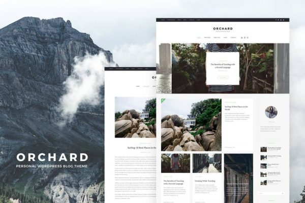 Orchard -  Kişisel WordPress Blog Temasısı