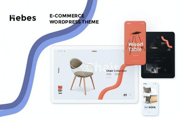 Hebes -  Çok Amaçlı WooCommerce WordPress Temasısı