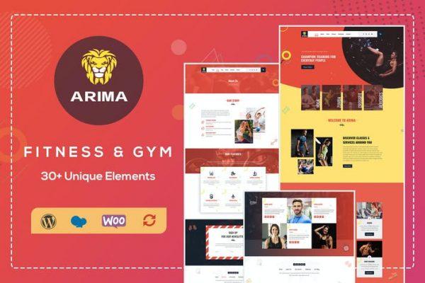 Arima -  Crossfit Spor Salonu WordPress Temasısı