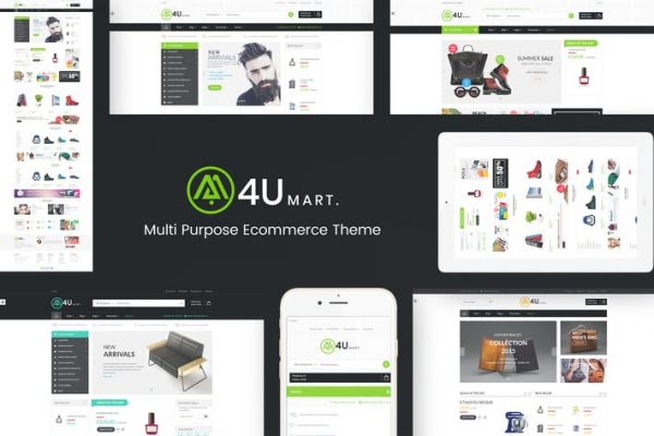 M4U -  Çoklu Mağaza Duyarlı WordPress Temasısı