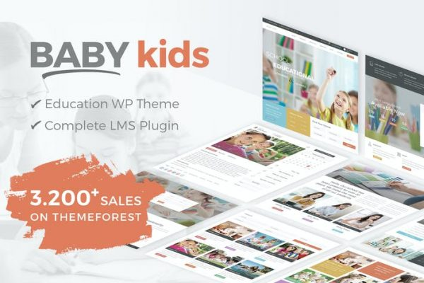 Baby Kids - Okul WordPress Temasısı