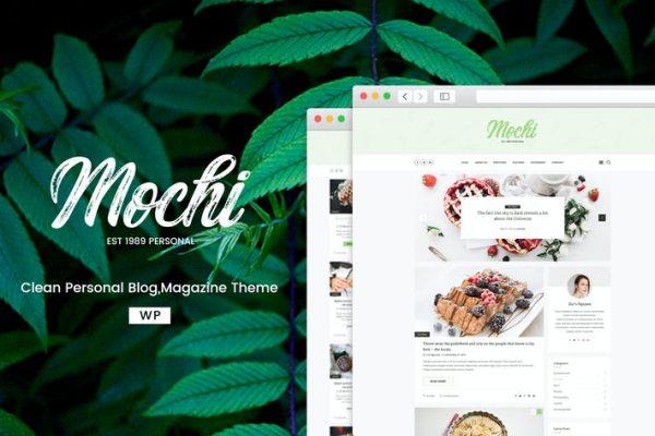 Mochi - Temiz Bir Kişisel WordPress Blog Temasısı