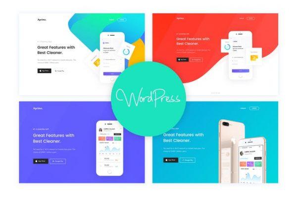 Aprimo - Mobil ve Uygulama Açılış WordPress Temasısı