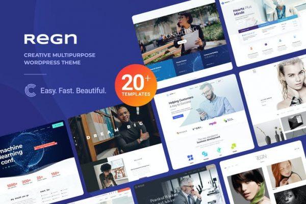 Regn - Amaç WordPress Temasısı