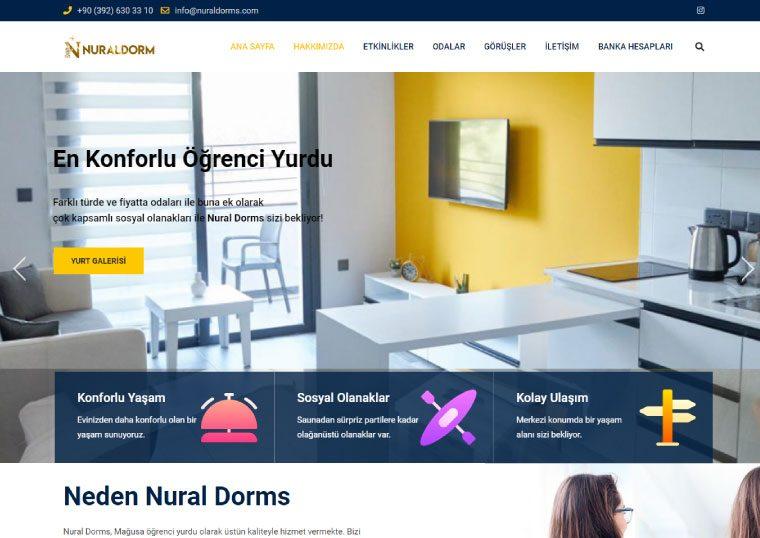 Nural Dorms Kıbrıs Öğrenci Yurdu