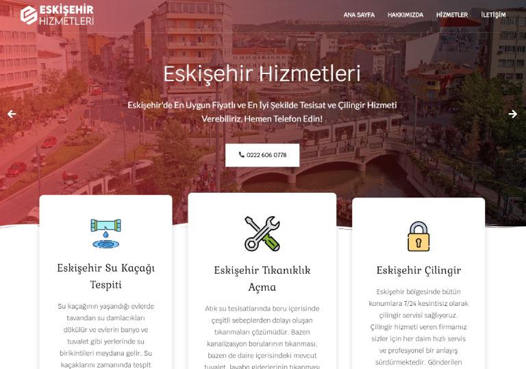 Eskişehir Hizmetleri - Tesisat/Tadilat Sitesi