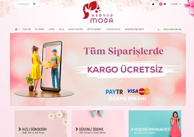 Giyim E-Ticaret Sitesi