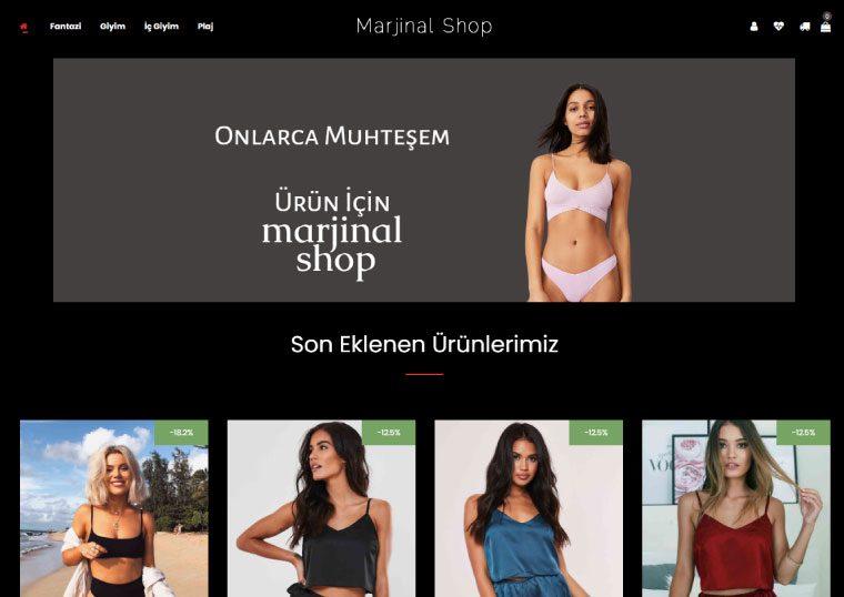 Marjinal Shop - İç Giyim Sitesi
