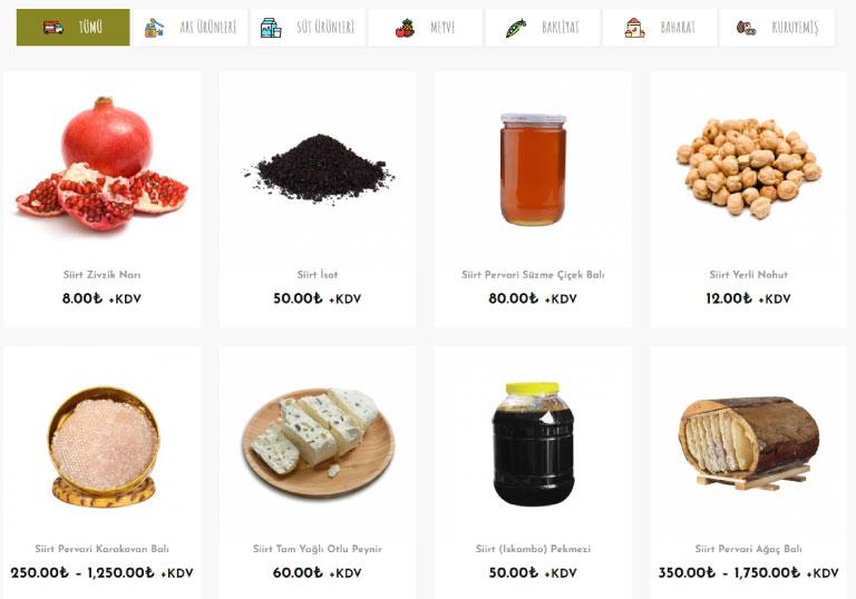 Otağ Yöresel Ürünler Satış Sitesi